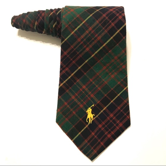 0c975f1b4024 Polo by Ralph Lauren Accessories | Polo Ralph Lauren Tie Plaid Wpony ...
